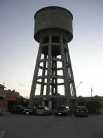 MATAROCCO - serbatoio per l'acqua - 30 novembre 2008   - Marsala (972 clic)