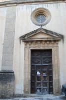 portone laterale della Chiesa dell'ex Collegio dei Gesuiti - 11 ottobre 2007  - Salemi (2370 clic)