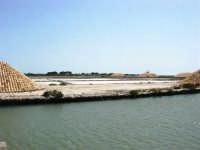 Saline Infersa e canale dell'imbarcadero per l'isola di Mozia - 25 maggio 2008    - Marsala (804 clic)