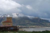 Contrada Magazzinazzi - monte Inici innevato - 14 febbraio 2009  - Alcamo marina (3113 clic)