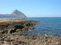 Golfo del Cofano - scogliera, mare stupendo - 30 agosto 2008  - San vito lo capo (501 clic)
