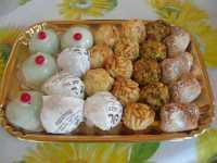 dolcetti alle mandorle e cassatine - 14 agosto 2009  - Alcamo marina (5722 clic)