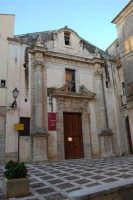 Largo IV Novembre - Chiesa dell'Oratorio o di S. Bartolomeo (Museo del Pane) - 11 ottobre 2007  - Salemi (2363 clic)