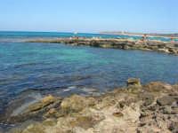 Golfo del Cofano - scogliera, mare stupendo - 30 agosto 2008  - San vito lo capo (485 clic)