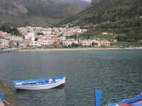 la città vista dal porto - 14 novembre 2008  - Castellammare del golfo (558 clic)