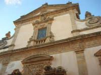 Chiesa dell'ex Collegio dei Gesuiti con facciata barocca - particolare - 11 ottobre 2007   - Salemi (2427 clic)