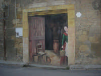 per le vie di Vita - murales - Mestieri e tradizioni della civiltà contadina: interno casa contadina - 9 ottobre 2007   - Vita (3505 clic)