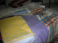 Cene di San Giuseppe - mostra di manufatti - tappeti - 15 marzo 2009   - Salemi (2386 clic)