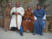 Epifania drammatizzata con quadri viventi a Salemi - interpreti durante le prove - 6 gennaio 2009   - Salemi (2965 clic)