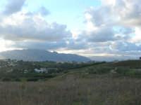 da c/da Sasi: panorama di ponente - 8 ottobre 2007  - Alcamo (662 clic)