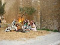 Epifania drammatizzata con quadri viventi a Salemi - interpreti durante le prove - 6 gennaio 2009   - Salemi (2106 clic)