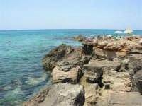 Golfo del Cofano: scogli e mare stupendo - 23 agosto 2008  - San vito lo capo (453 clic)