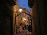 Cene di San Giuseppe - addobbo in strada - 15 marzo 2009   - Salemi (2482 clic)