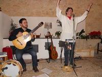 Concerto NAPOLINCANTO - Domenico De Luca (chitarra solista e percussione), Gianni Aversano (voce e chitarra) - 10 dicembre 2009   - Alcamo (1499 clic)
