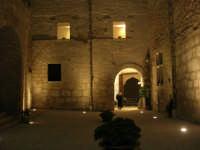 Castello dei Conti di Modica - cortile interno - 23 dicembre 2008    - Alcamo (508 clic)