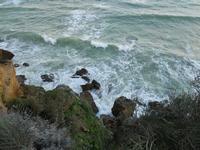 periferia est - il mare si infrange sugli scogli - 9 dicembre 2009  - Castellammare del golfo (1333 clic)