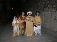 Epifania drammatizzata con quadri viventi a Salemi - 6 gennaio 2009   - Salemi (2675 clic)