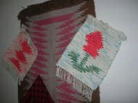 Cene di San Giuseppe - mostra di manufatti - tappeti - 15 marzo 2009   - Salemi (2316 clic)