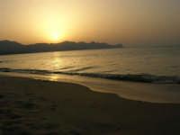 Tramonto sul Golfo di Castellammare (2)- 18 luglio 2005  - Alcamo marina (1569 clic)