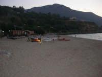 Spiaggia Plaja all'imbrunire - 24 giugno 2008  - Castellammare del golfo (474 clic)