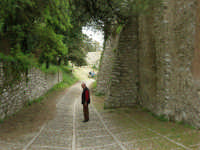 Mura Elimo Puniche dette ciclopiche - sec. VIII-VI a.c. - 25 aprile 2006   - Erice (3496 clic)