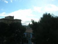 Monte Bonifato innevato, visto da Castellammare - 14 febbraio 2009   - Castellammare del golfo (1951 clic)