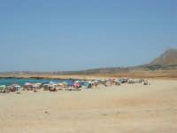 Golfo del Cofano: spiaggia e mare stupendo - 23 agosto 2008  - San vito lo capo (628 clic)
