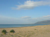 spiaggia di levante - golfo di Castellammare - 1 marzo 2009  - Balestrate (3222 clic)