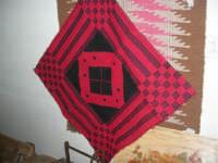 Cene di San Giuseppe - mostra di manufatti - tappeti - 15 marzo 2009   - Salemi (2396 clic)