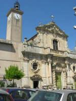 Chiesa S. Maria Assunta: risale alla prima metà del XV secolo; colpisce per il singolare prospetto barocco - 23 aprile 2006  - Chiusa sclafani (1186 clic)