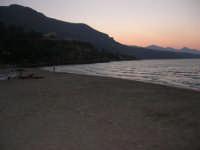 Spiaggia Plaja all'imbrunire - 24 giugno 2008  - Castellammare del golfo (490 clic)