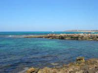 Golfo del Cofano - scogliera, mare stupendo - 30 agosto 2008  - San vito lo capo (453 clic)