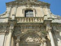 Chiesa S. Maria Assunta: risale alla prima metà del XV secolo; colpisce per il singolare prospetto barocco - 23 aprile 2006  - Chiusa sclafani (1212 clic)