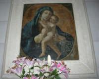immagine della Madonna - Santuario della Madonna dei Miracoli - 6 settembre 2008   - Alcamo (803 clic)
