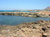 Golfo del Cofano - scogliera, mare stupendo - 30 agosto 2008  - San vito lo capo (531 clic)