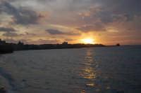 Lungomare Dante Alighieri - tramonto - 13 marzo 2009   - Trapani (2418 clic)
