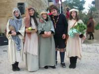 Epifania drammatizzata con quadri viventi a Salemi - interpreti durante le prove - 6 gennaio 2009   - Salemi (2569 clic)