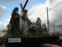 Processione della Via Crucis con gruppi statuari viventi - 5 aprile 2009   - Buseto palizzolo (1763 clic)