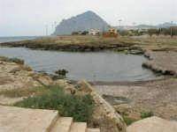 panorama della costa e monte Cofano - 25 aprile 2006   - Valderice (3759 clic)