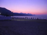 Spiaggia Plaja all'imbrunire - 24 giugno 2008  - Castellammare del golfo (489 clic)