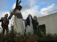 Processione della Via Crucis con gruppi statuari viventi - 5 aprile 2009   - Buseto palizzolo (1665 clic)