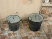 C/da Bosco Falconeria - Baglio Carta - in mostra oggetti che testimoniano le usanze del passato - 7 dicembre 2008  - Balestrate (1541 clic)