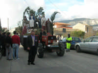 Processione della Via Crucis con gruppi statuari viventi - 5 aprile 2009   - Buseto palizzolo (1703 clic)