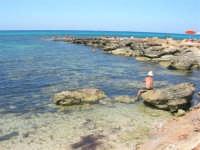 Golfo del Cofano - scogliera, mare stupendo - 30 agosto 2008  - San vito lo capo (508 clic)