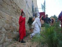 Epifania drammatizzata con quadri viventi a Salemi - interpreti durante le prove - 6 gennaio 2009   - Salemi (2619 clic)