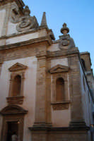 Chiesa dell'ex Collegio dei Gesuiti - particolare - 11 ottobre 2007  - Salemi (2436 clic)