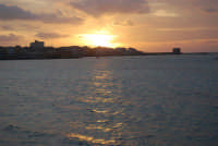 Lungomare Dante Alighieri - tramonto - 13 marzo 2009   - Trapani (1867 clic)