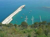 il porto dal Belvedere - 3 maggio 2009  - Castellammare del golfo (1631 clic)