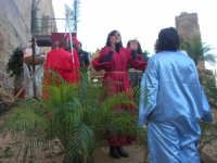 Epifania drammatizzata con quadri viventi a Salemi - interpreti durante le prove - 6 gennaio 2009   - Salemi (2659 clic)
