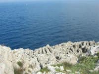 Capo San Vito - la costa rocciosa e l'azzurro del mare - 10 maggio 2009   - San vito lo capo (1532 clic)
